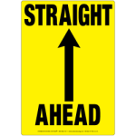 item_391_Straight_Ahead_Sign
